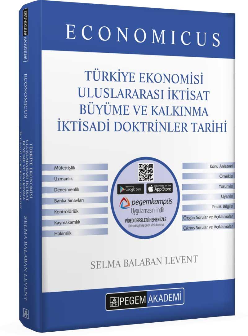 Pegem 2021 KPSS A Grubu Economicus Türkiye Ekonomisi, Uluslararası İktisat, Büyüme ve Kalkınma, İkti