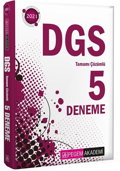 Pegem 2021 DGS Tamamı Çözümlü 5 Deneme
