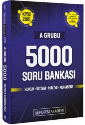 Pegem 2021 KPSS A Grubu 5000 Soru Bankası