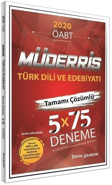 Tercih Akademi 2020 KPSS ÖABT Müderris Türk Dili ve Edebiyatı 5 Deneme