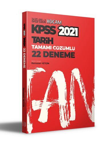Benim Hocam Yayınları 2021 KPSS Tarih Tamamı Çözümlü 22 Deneme