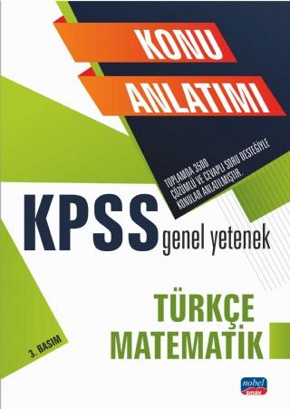 Nobel KPSS Genel Yetenek Türkçe- Matematik Konu Anlatımı