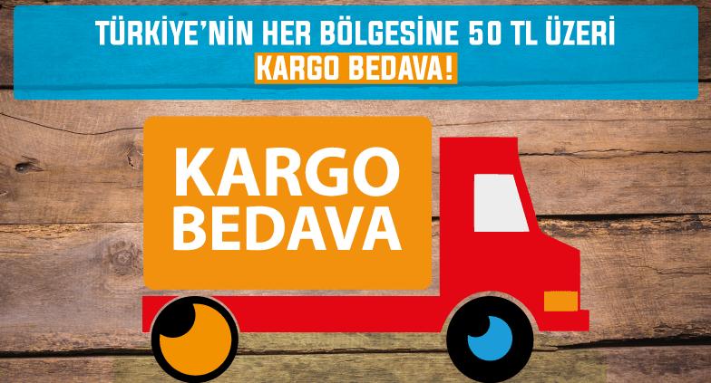 60 TL Üzeri Kargo Bedava!