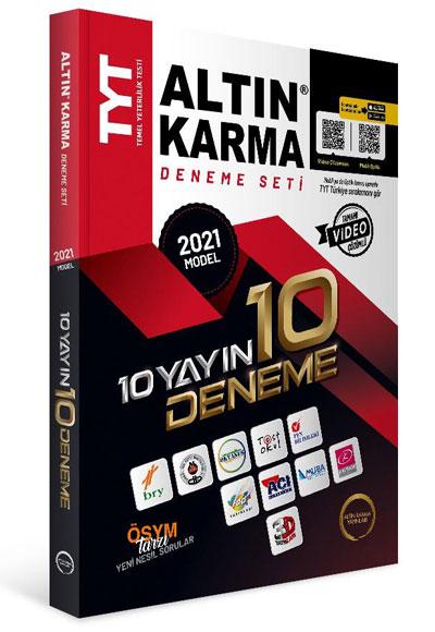 Altın Karma TYT 10 Farklı Yayın 10 Farklı Deneme