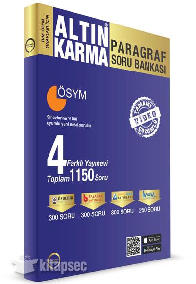 Paragraf Soru Bankası 4 Farklı Yayınevi Altın Karma