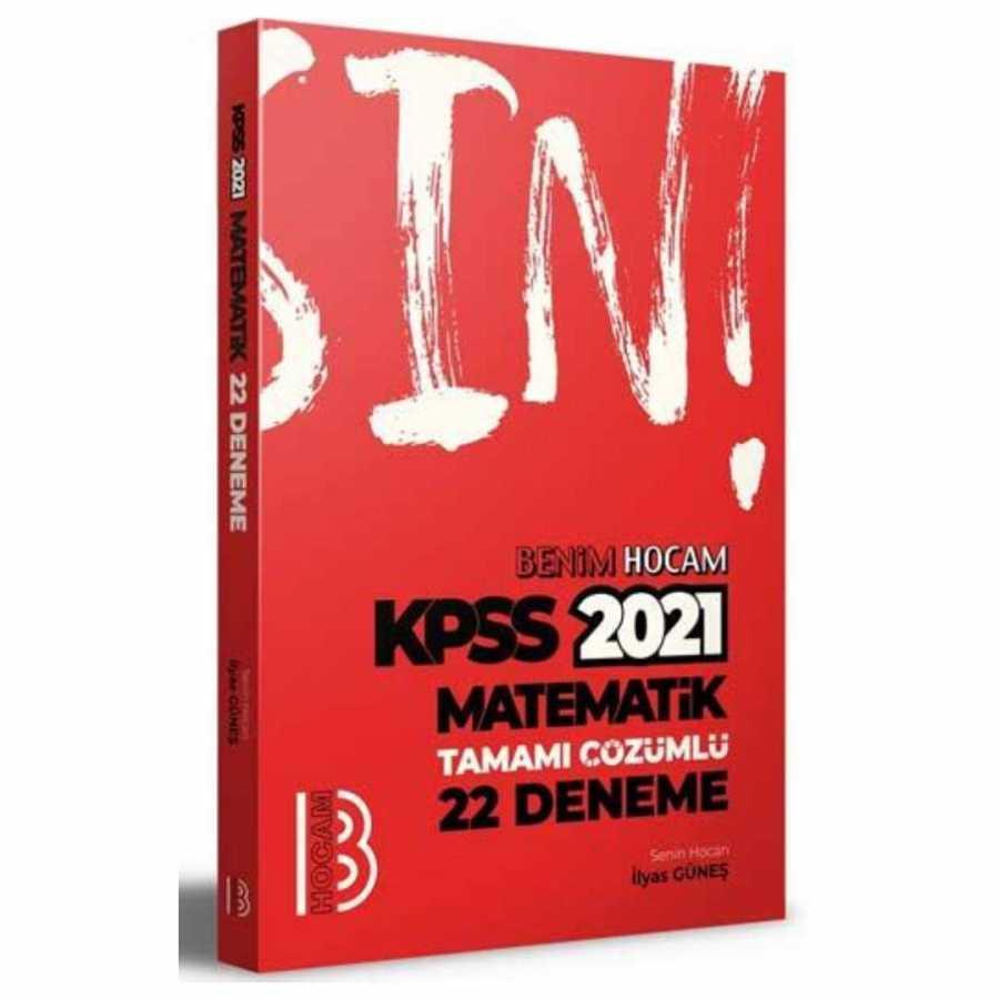 Benim Hocam Yayınları 2021 KPSS Matematik Tamamı Çözümlü 22 Deneme