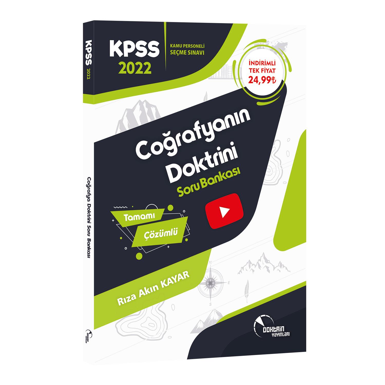 2022 KPSS Coğrafya Tamamı Çözümlü Soru Bankası