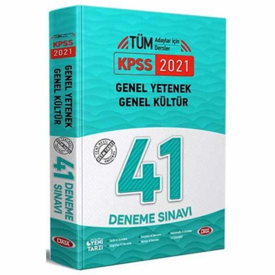 Data 2021 KPSS Genel Kültür Genel Yetenek 41 Deneme