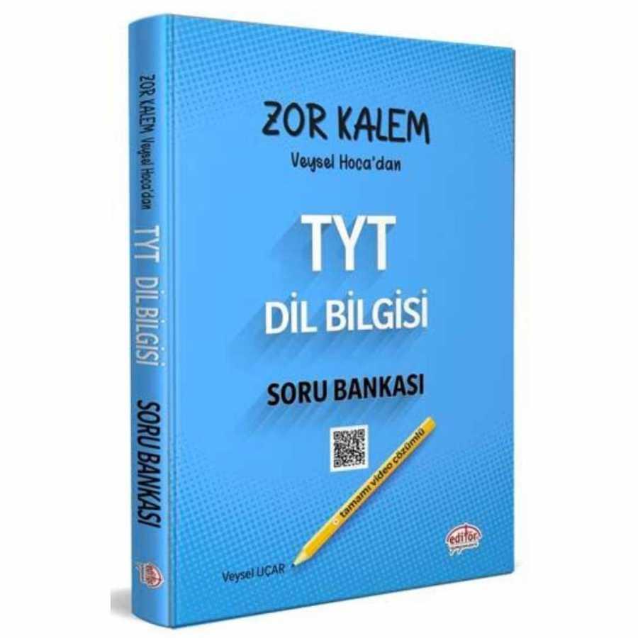 Editör Zor Kalem TYT Dil Bilgisi Soru Bankası