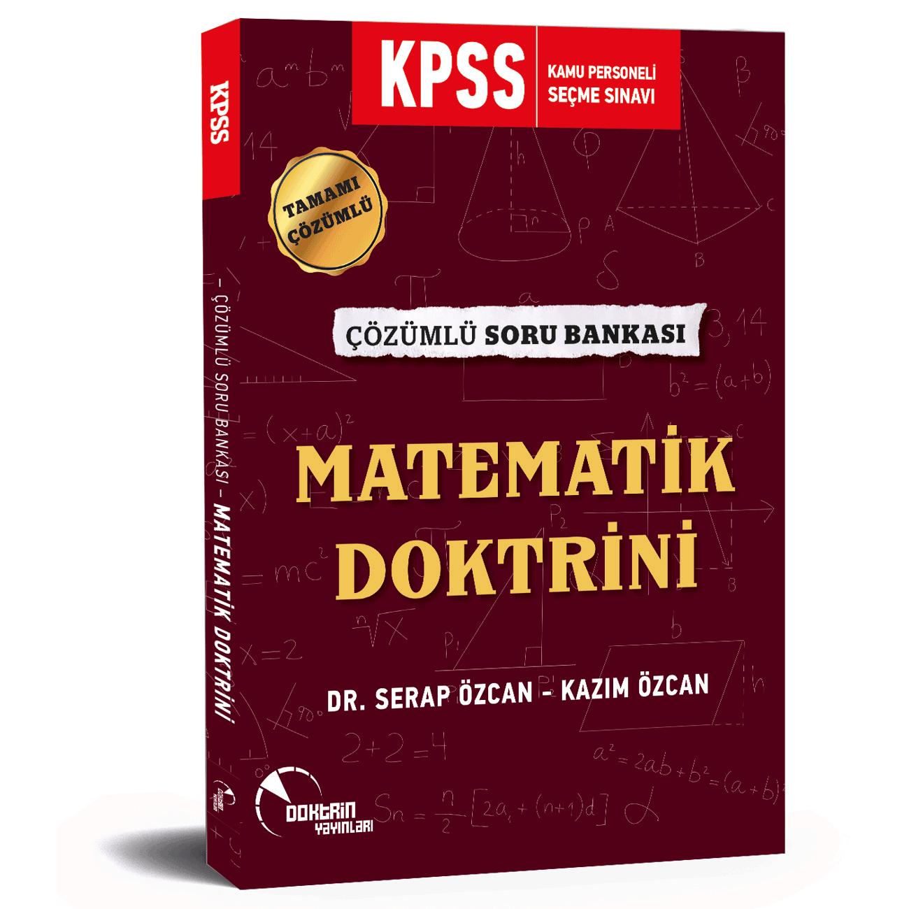 2020 KPSS Matematik Doktrini Tamamı Çözümlü Soru Bankası