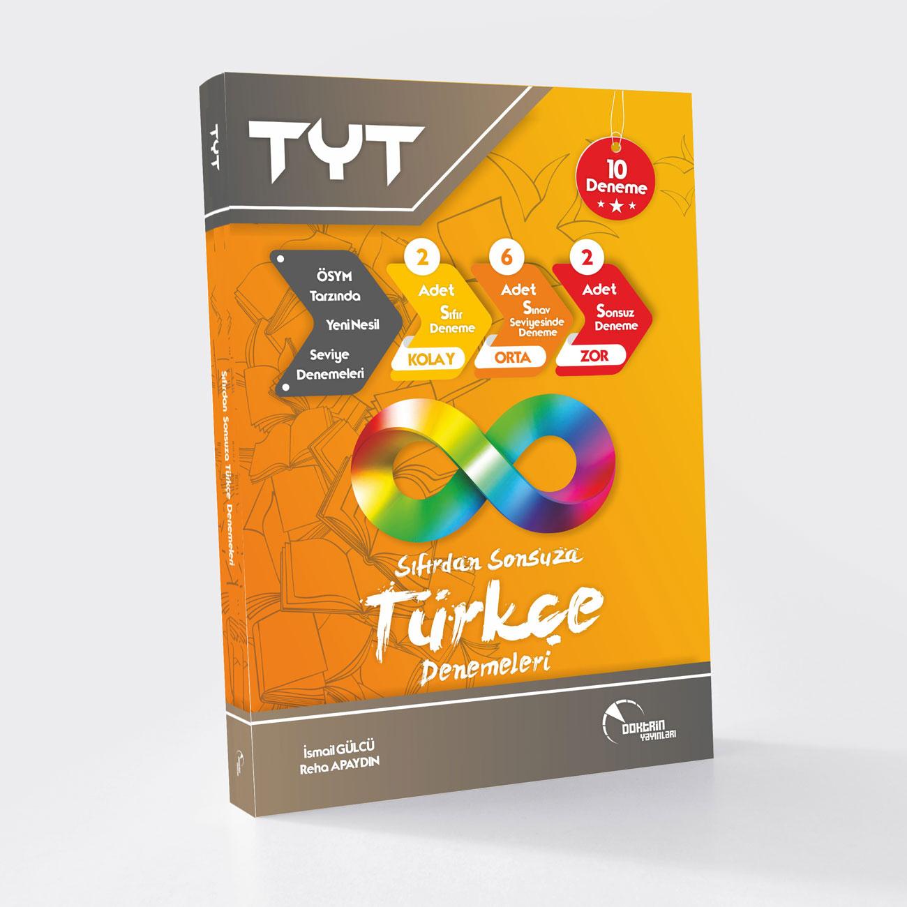 TYT Sıfırdan Sonsuza Türkçe 10 lu Deneme