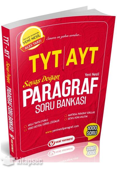 TYT AYT Paragraf Soru Bankası Veri Yayınları