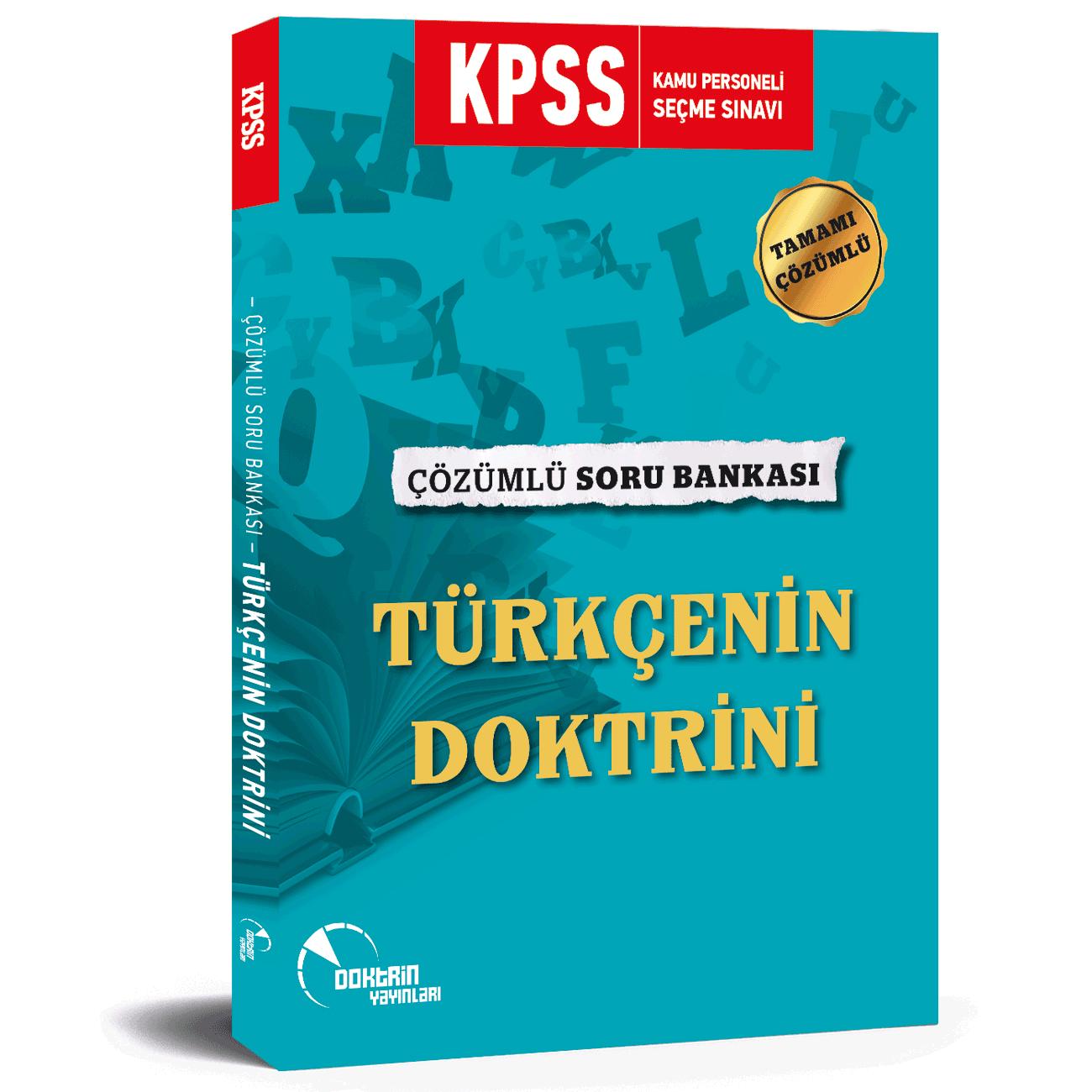2020 KPSS Türkçe Çözümlü Soru Bankası