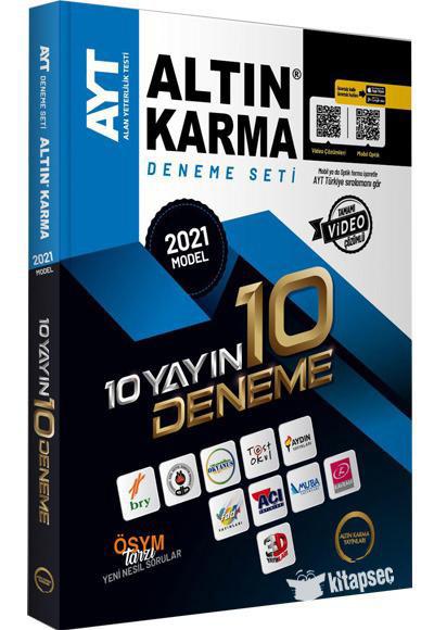 Altın Karma 2021 AYT 10 Yayın 10 Deneme