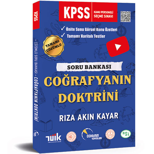 2020 KPSS Coğrafya Tamamı Çözümlü Soru Bankası