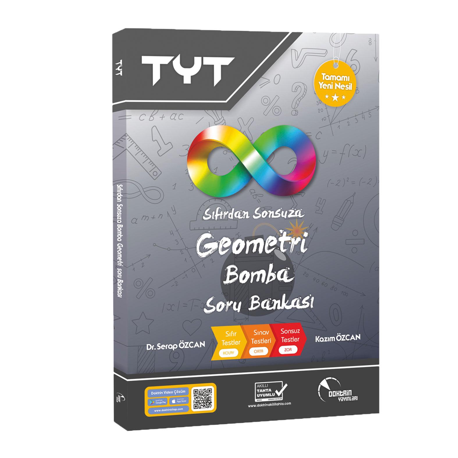TYT Sıfırdan Sonsuza Bomba Geometri Soru Bankası (Yeni Nesil)