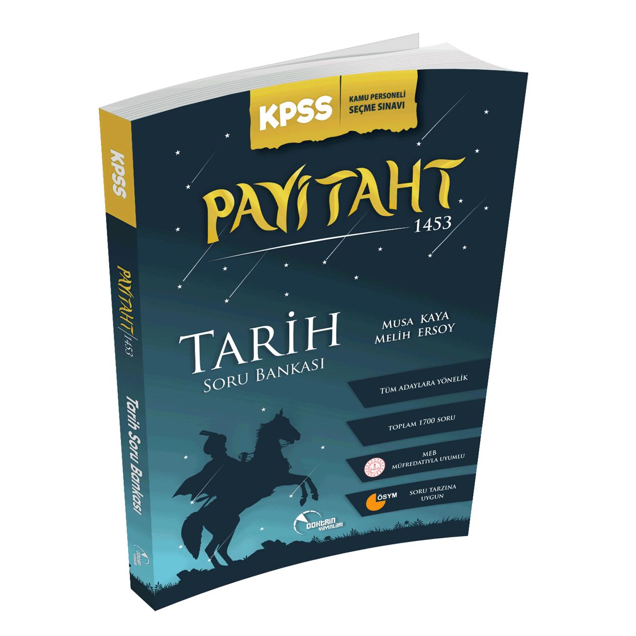 2021 KPSS Tarih Payitaht 1453 Örnek Çözümlü Soru Bankası