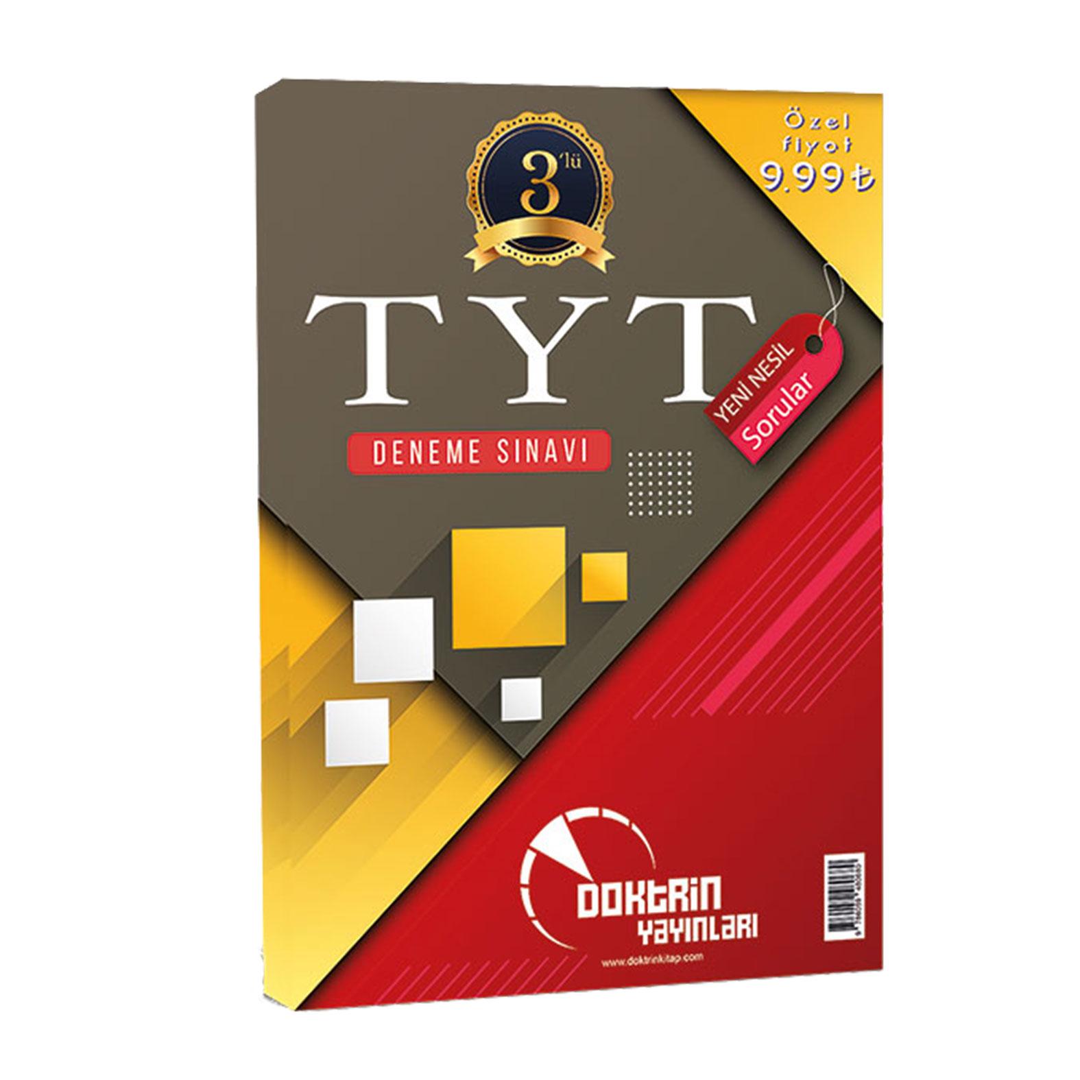 TYT 3 lü Deneme Sınavı