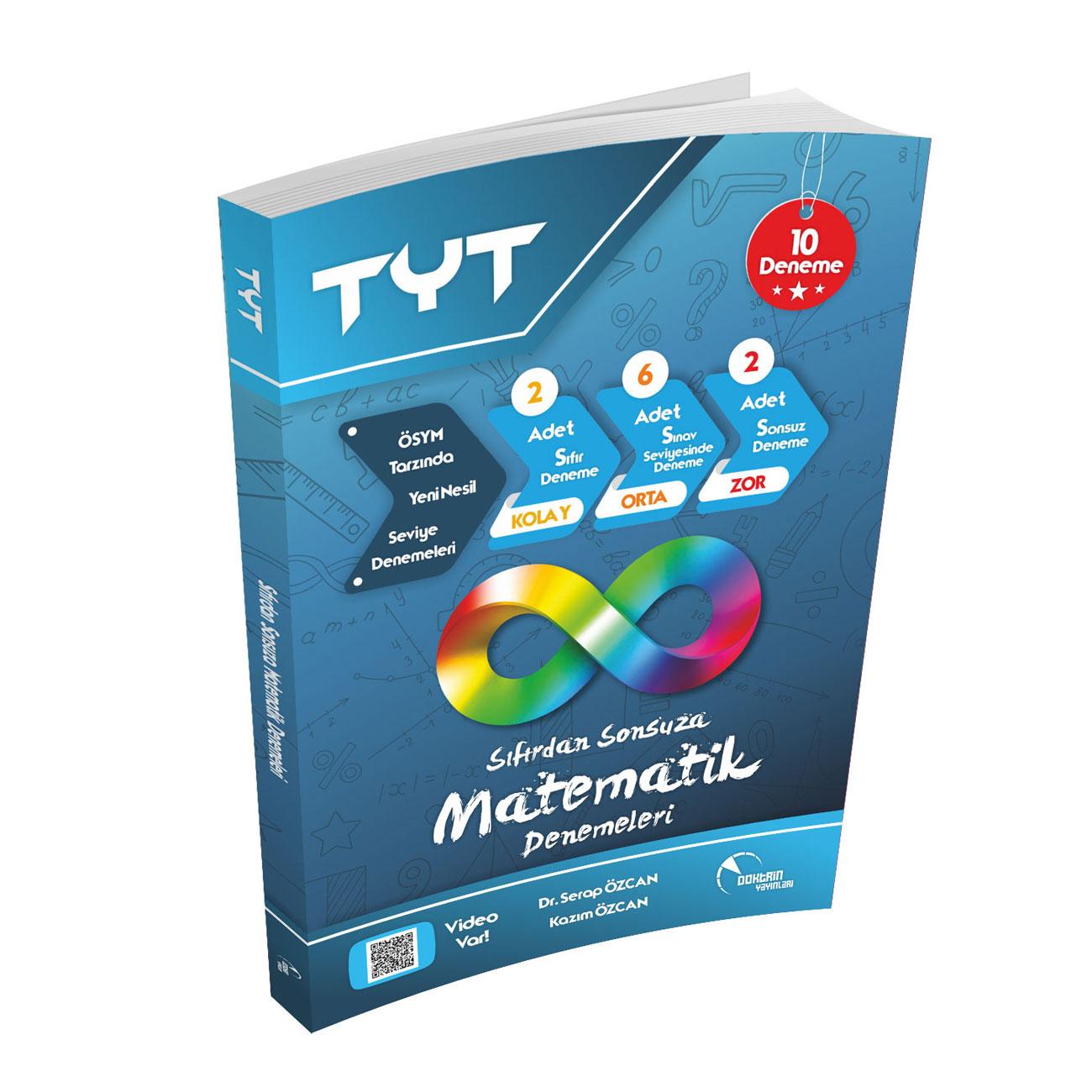 TYT Sıfırdan Sonsuza Video Çözümlü Matematik 10 lu Deneme